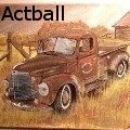 Actball - Old friend - Paintings