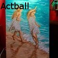 Actball - Beach Dance - Paintings