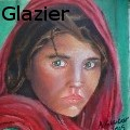 Adrian Glazier - Afgan girl - Oil Painting