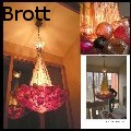 Andrew Brott - Satsuma Stalk Chandelier - Glass
