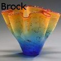 Curtiss R Brock -  - Glass