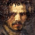 Gegham Magnos Asatryan - My friend Rafo - Oil Painting