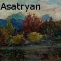 Gegham Magnos Asatryan - Night scene - Oil Painting