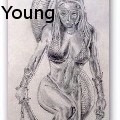 Greg M Young - Queen of the Snakes - Drawings