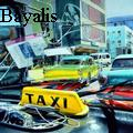 John Bayalis - HAVANA TAXI - Water Color