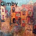 Linda Lee Gimby - Village Gate - Mixed Media