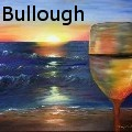 Nancy Tydings Bullough - A Glass of Wine on Naples Beach - Paintings