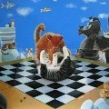 Ng Ling Tze  - Checkmate - Paintings