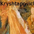 Sergey Kryshtapovich - Mural painting in the Memorial Museum of Nikolai Chepik: Fragment: Central scene - Paintings
