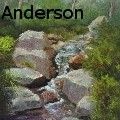 Shirley R. Anderson - Over the Falls - Paintings