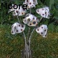 Stanger Moore - Metal mushrooms-small spotted fungi - Sculpture