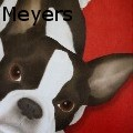 Terri Meyers - Faux Frenchie - Oil Painting