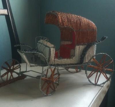Vintage carriage saloo