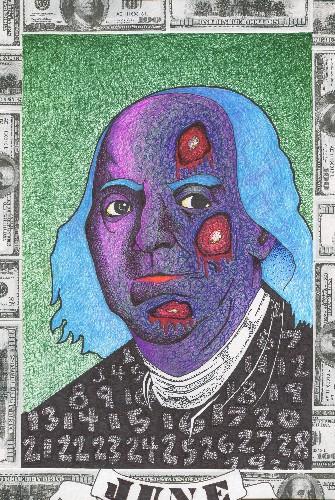 Dead President$ Series: Benjamin Franklin
