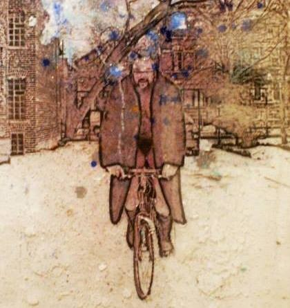Allen Chicago Artist Vandever Winter Naked Bike Ride
