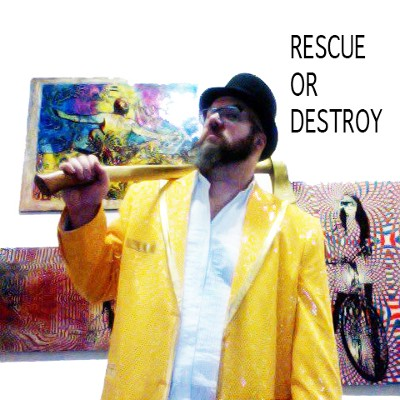 Allen Chicago Artist Vandever Rescue or Destroy