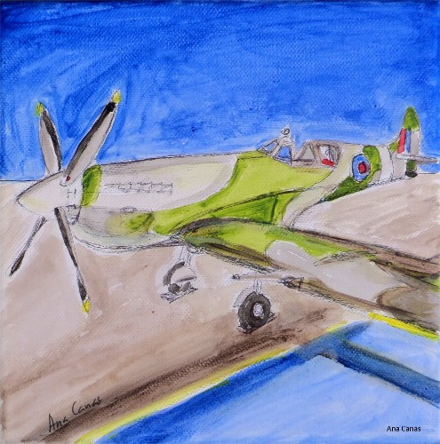 Ana Canas Gallery WWII airplane