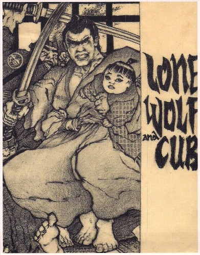 Arne Enojas lone wolf and cub