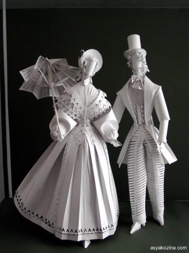Paper pair romanticism.