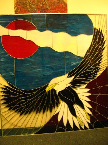 Austen Brauker Stained Glass Eagle