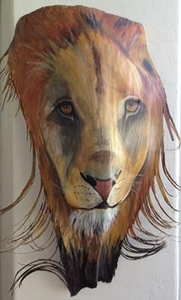 Barbara J Miller Lion Palm Frond