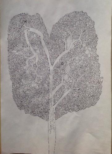 Ash tree Labyrinth