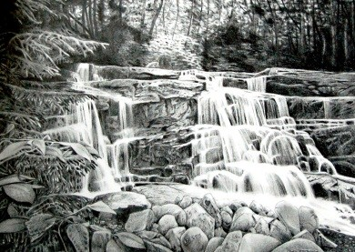 Beth Hovanec Waterfall