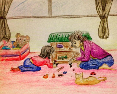 Alisa's toy theatre