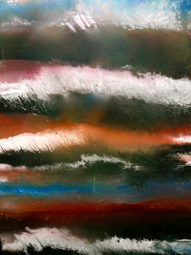 Christine Awad Storm At Sea