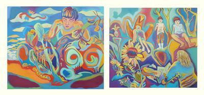 Basilisk Dream and Sunflowers & Shosuke in Kansas