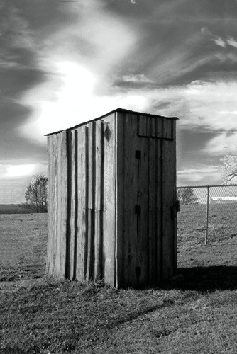 Curtis J Neeley Jr Koyle-Cemetery-outhouse