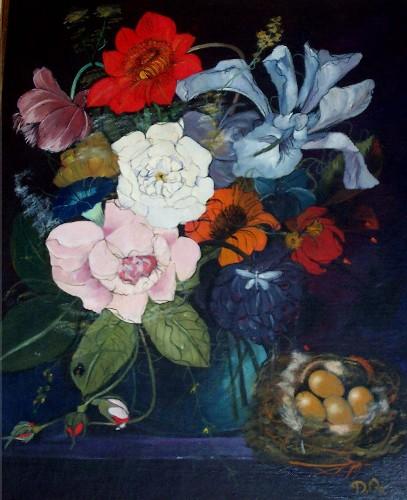 Flowers/nest