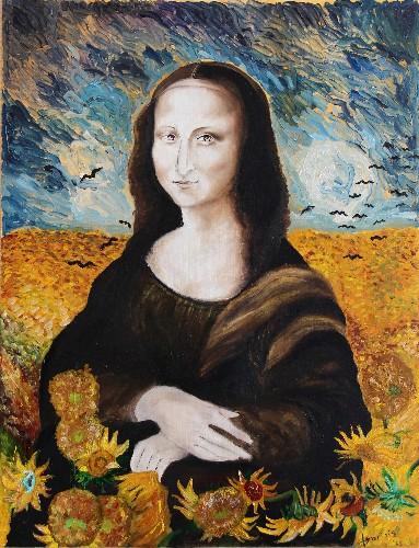Mona Lisa meets Vincent