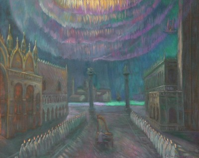 Edward Tabachnik Aurora Borealis at St. Mark Sq.
