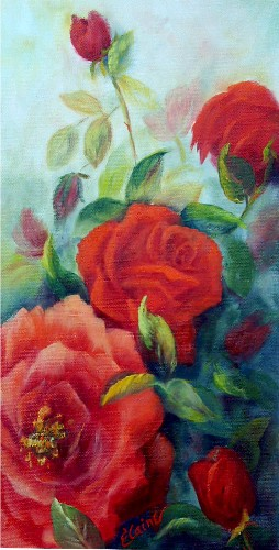Elaine Bailey Roses, roses, roses