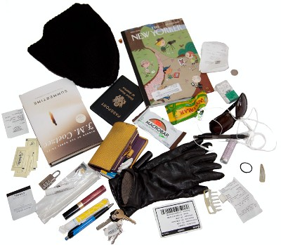 Ellie Brown Alex BAG Contents