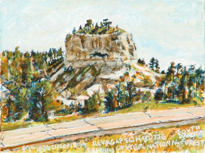 Slim Butte, Reva Gap, South Dakota 100621