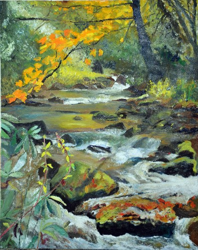 Garry Turpin Fall Colored Stream