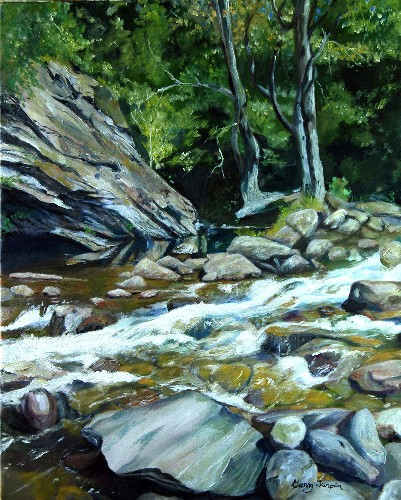 Garry Turpin Smoky Mountain Stream