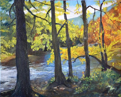 Garry Turpin Autumn River
