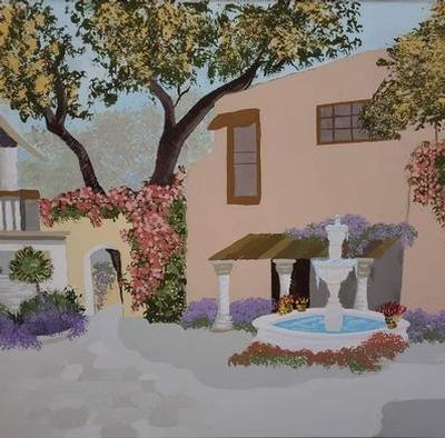 Spanish Courtyard #5