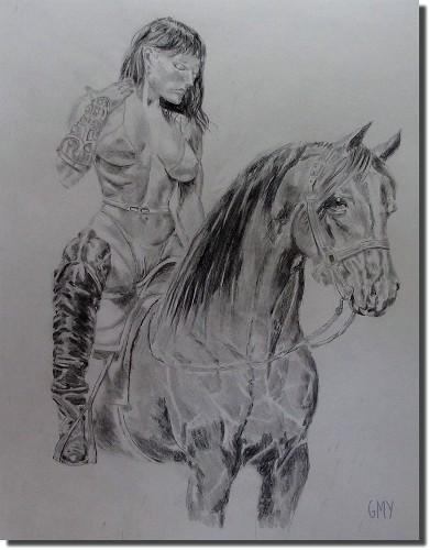 Horse Back Princess