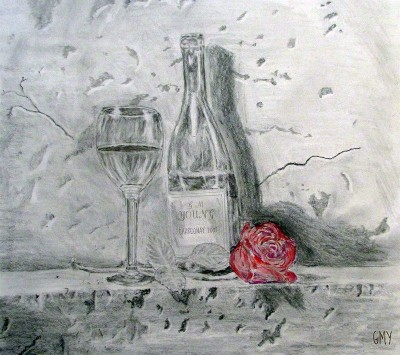 Greg M Young Wine, Rose and all my Love