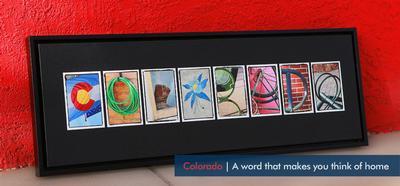 COLORADO - Word Art