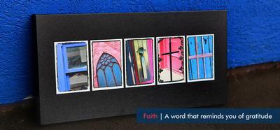 FAITH - Word ART