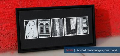 SMILE - Word ART