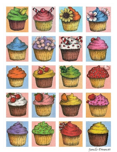 Janelle Cupcake Montage