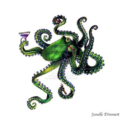 Happy Hour Octopus