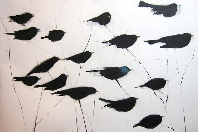 Jeanne Goodman BIrds on the wire
