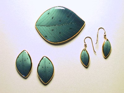 Green Leaf Jewelry